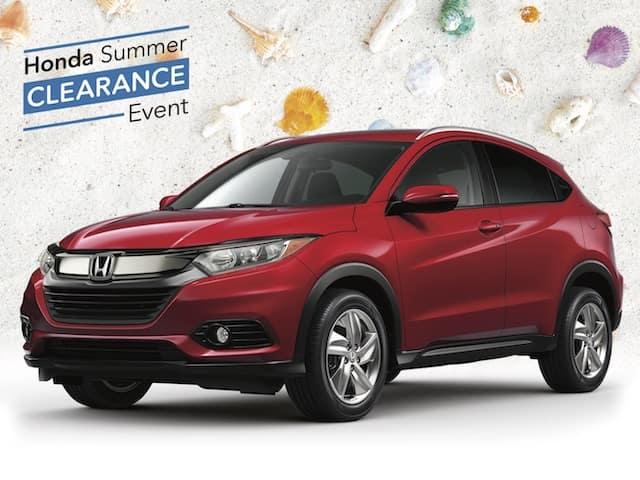 New 2020 Honda HR-V EX AWD