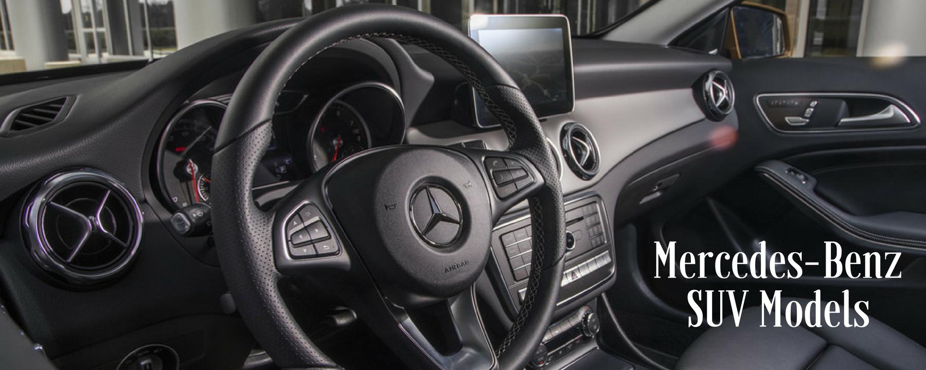 Mercedes-Benz SUV Models