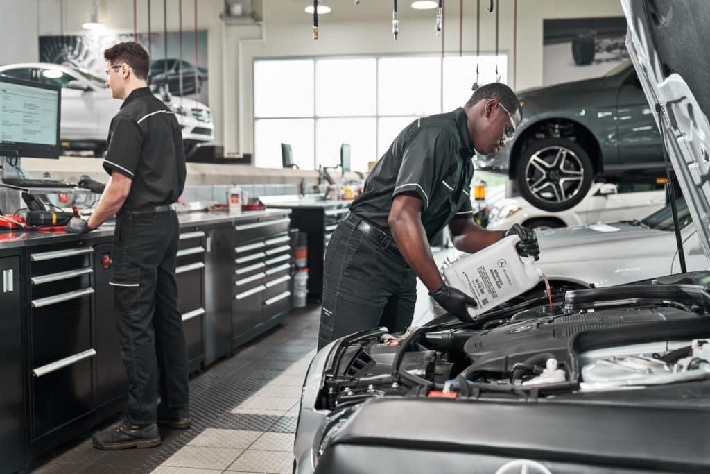 Mercedes-Benz Maintenance in Charleston SC