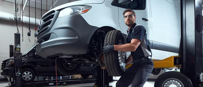 Mercedes-Benz Vans Tires & Alignment in Charleston SC
