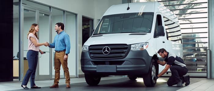 Mercedes-Benz Vans Service Center in Charleston SC