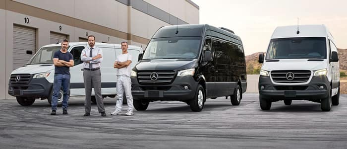 New Mercedes-Benz Vans for Sale in Charleston SC