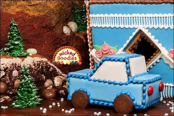 Gingerbread Cookie Cars
