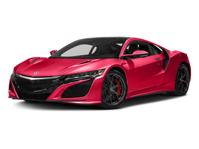 2017 Acura NSX Coupe Red