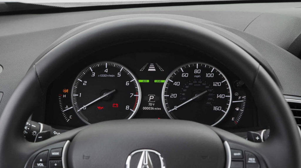 2017 Acura RDX interior features