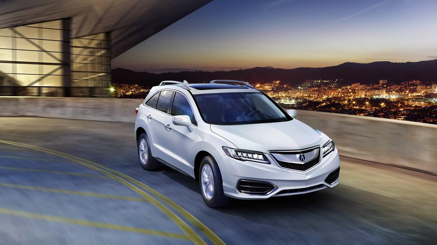 2017 Acura RDX base model white exterior