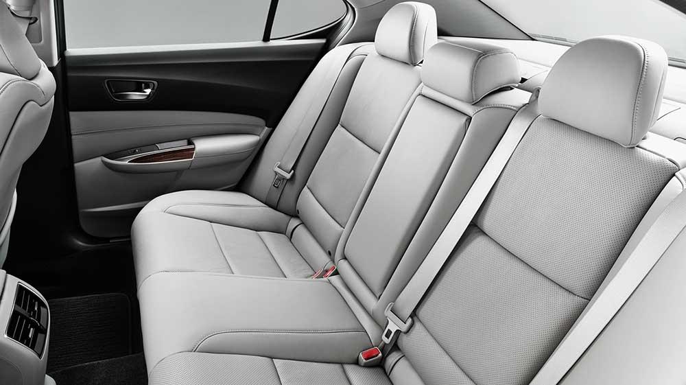 TLX Rear Seats