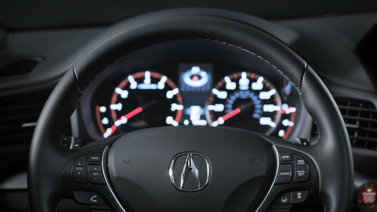 2017-Acura-ILX-dash-detail Interior Space and Technology