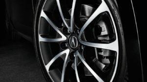 2017 Acura TLX 19-inch Diamond Cut Wheels