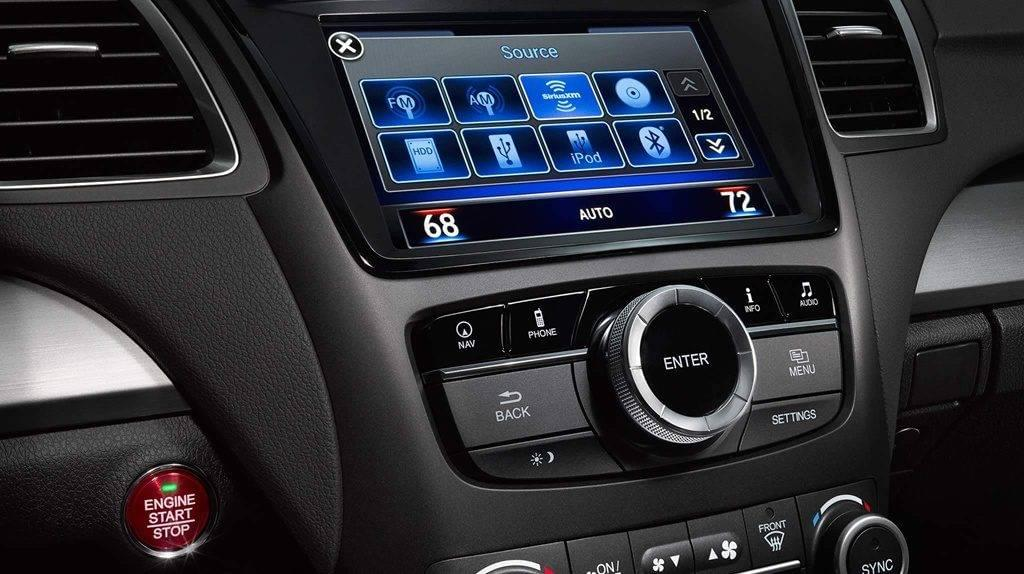 2017 Acura RDX touch screen