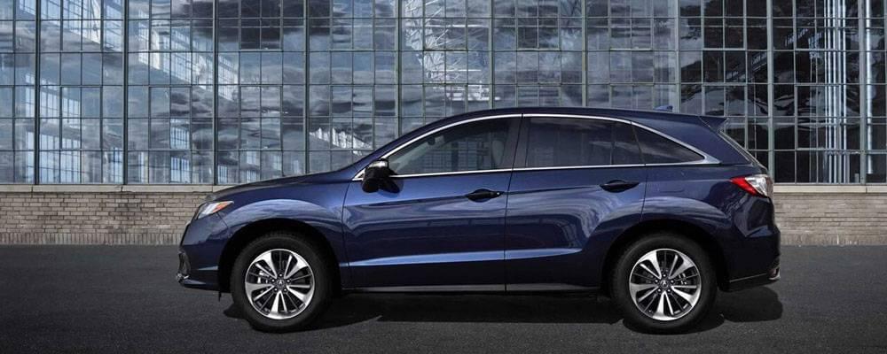 Blue 2017 Acura RDX