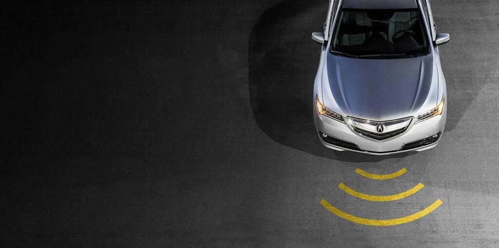 2017 Acura TLX available safety features