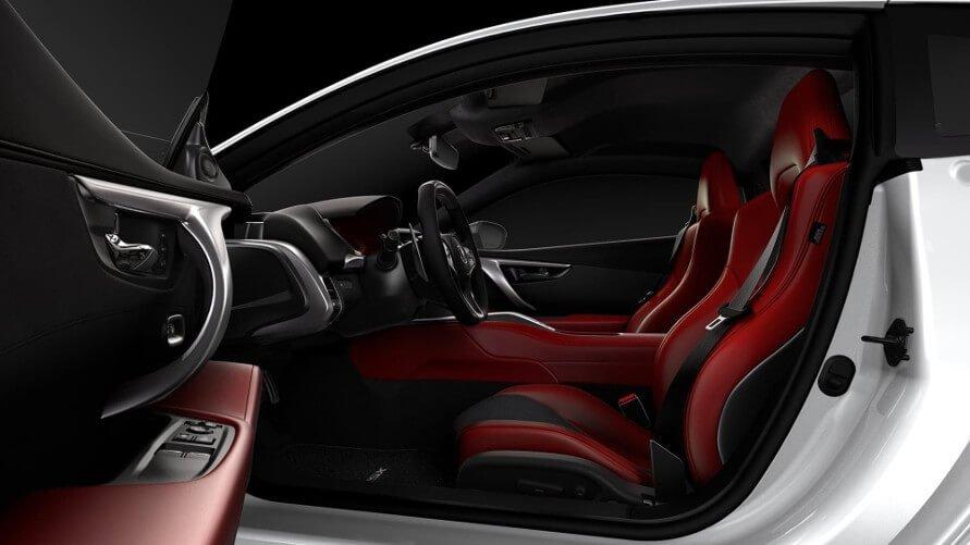 2017 Acura NSX interior