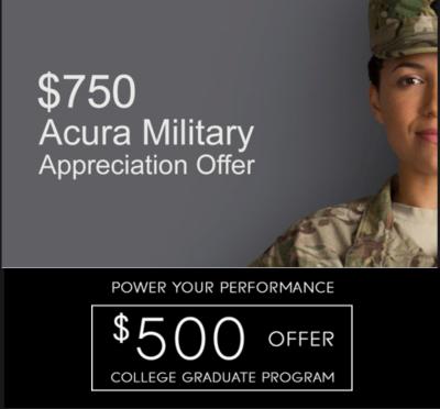 Military Appreciation Offer | College Graduate Program