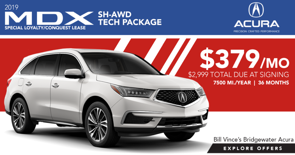 2019 Acura MDX SH-AWD Tech