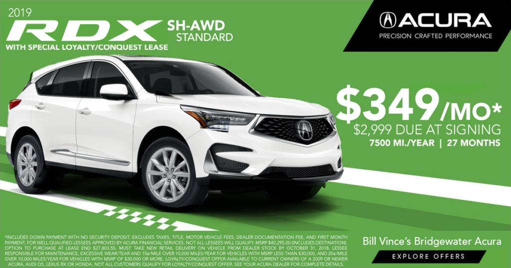 2019 Acura RDX SHAWD Standard
