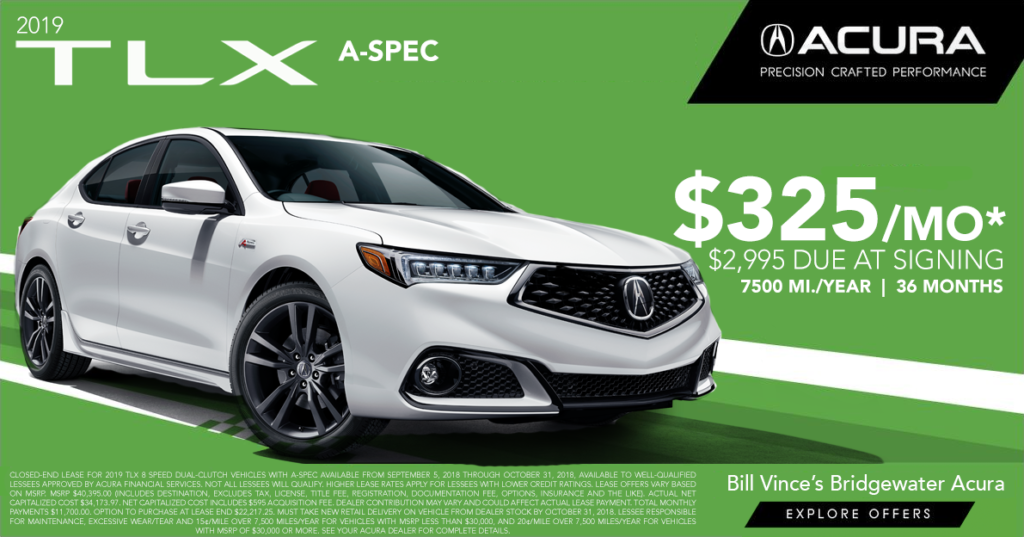 2019 Acura TLX 8spd DCT ASpec