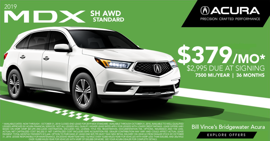 Bridgewater Acura Lease Offers Bill Vinces Bridgewater Acura - Lease an acura