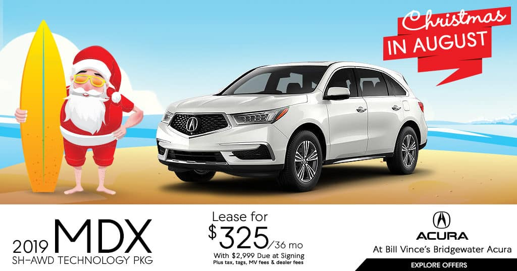 2019 Acura MDX AWD Tech Package