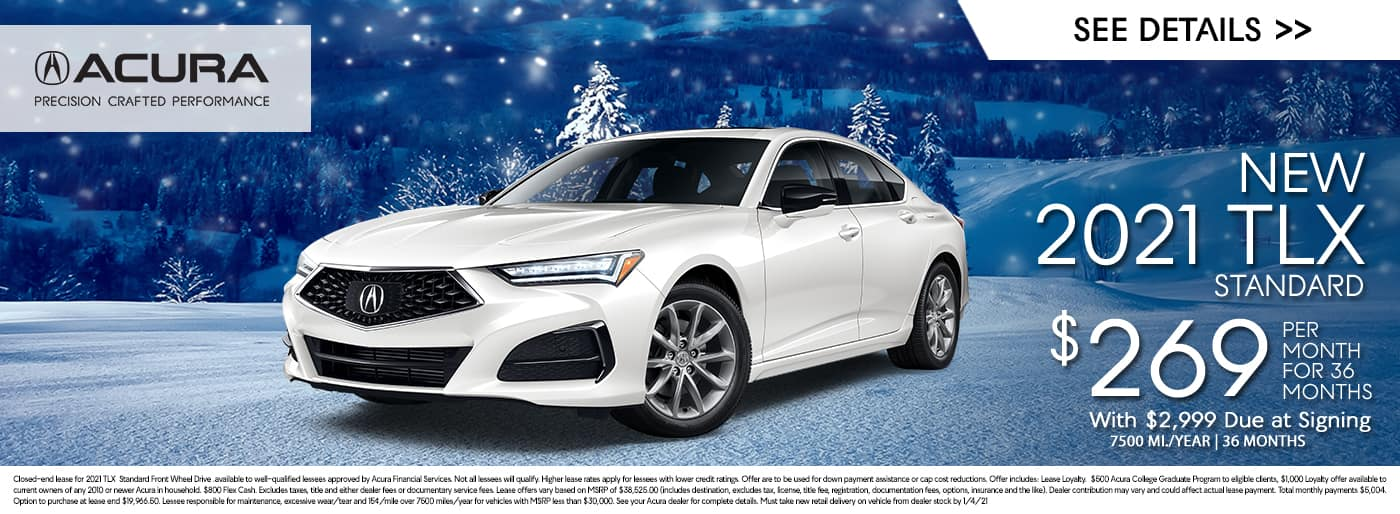 New 2021 TLX