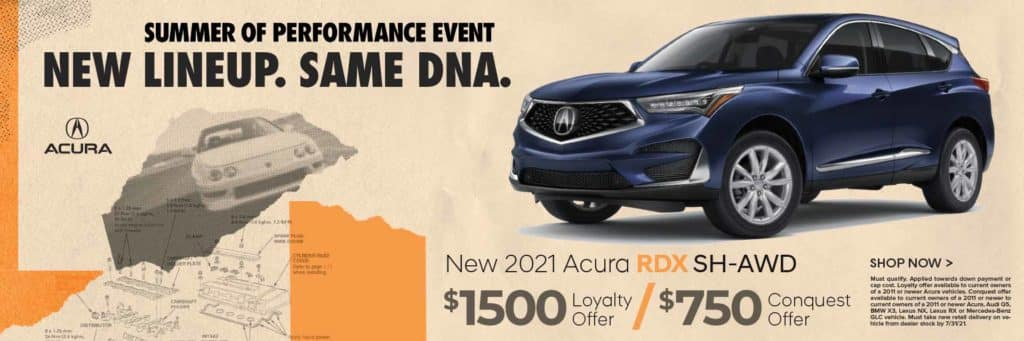 New 2021 Acura RDX SH-AWD $1,500 Loyalty Offer / $750 Conquest Offer