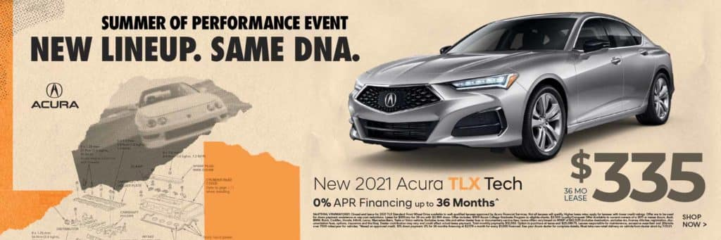 New 2021 Acura TLX Technology Package $335 / 36 mos. 0% APR 36 mos.