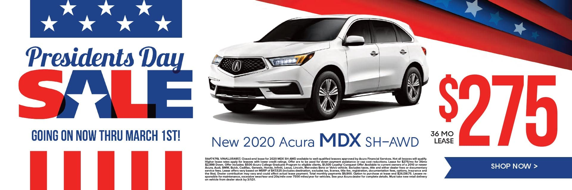 New 2020 Acura MDX