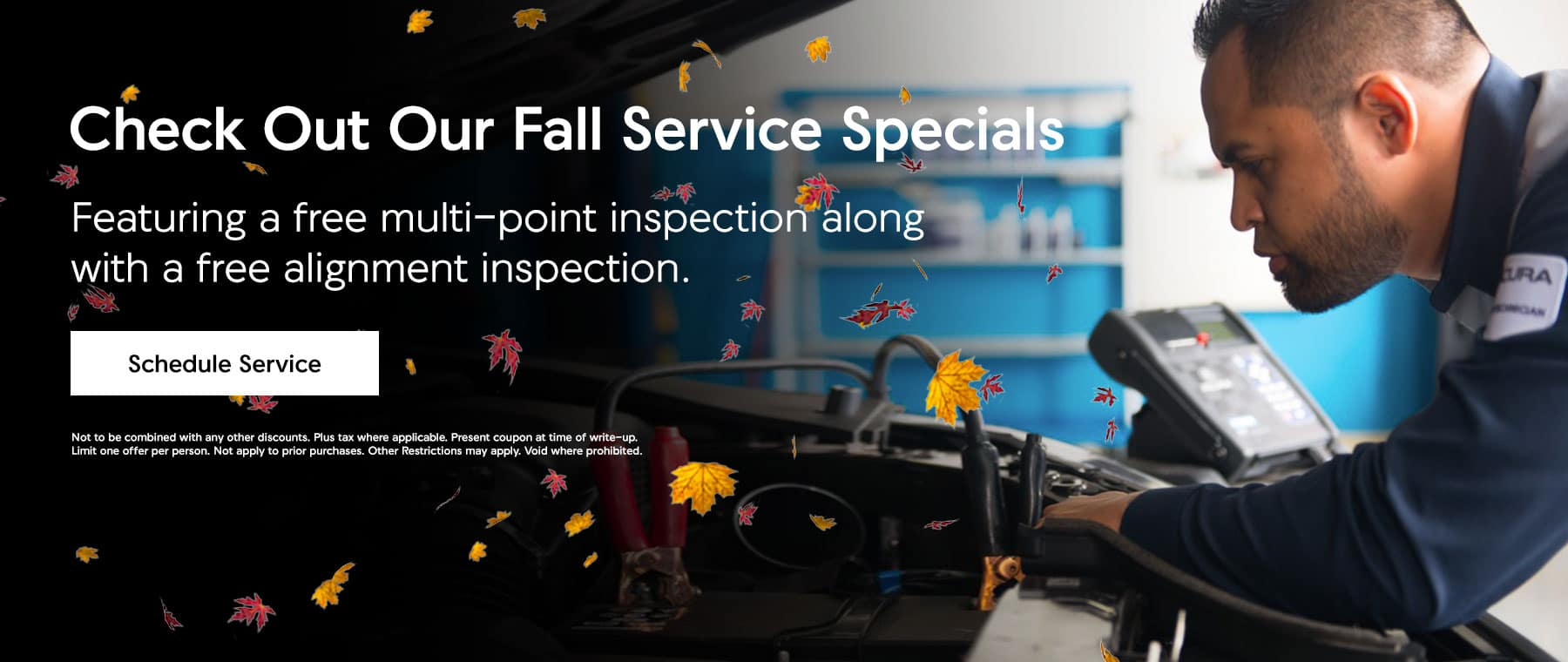 Check Out Our Fall Service Specials