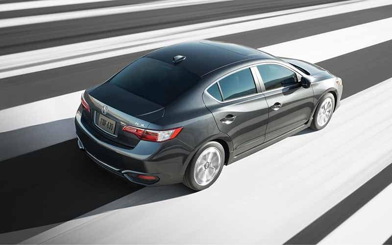 2018 Acura ILX driving top view
