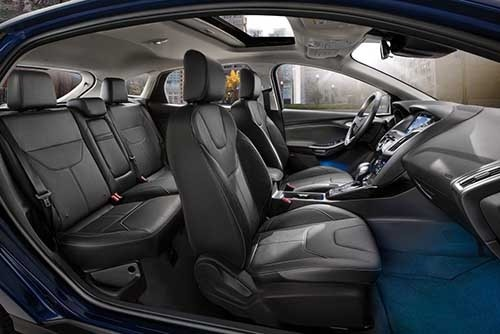 Ford Focus Interior Airbag Positions