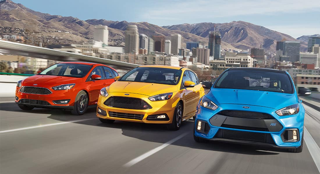 2018 Ford Focus Hatch SEL ST RS Trims