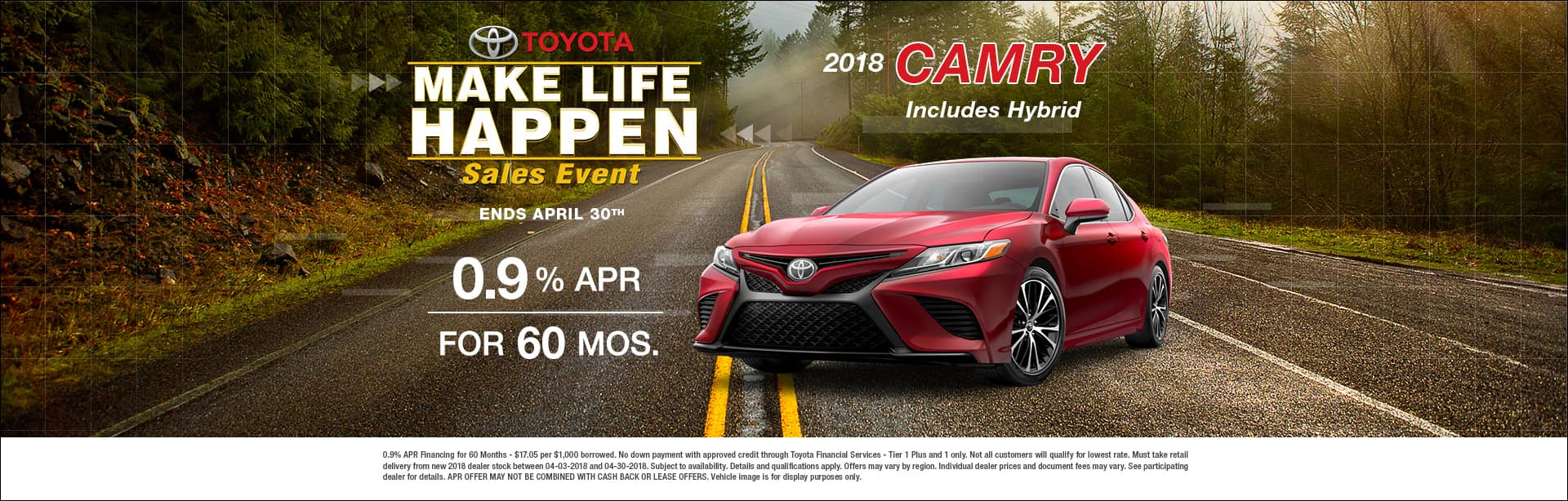 Camry Special APR Offer Cain Toyota North Canton Ohio