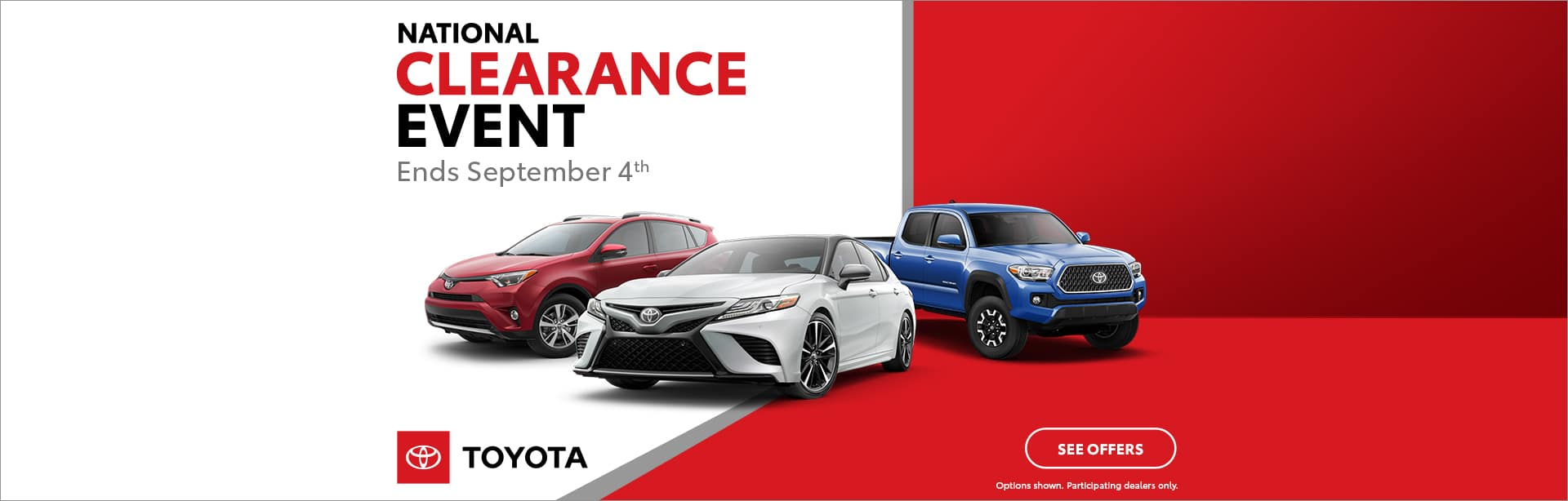 National Clearance Event Cain Toyota North Canton Ohio
