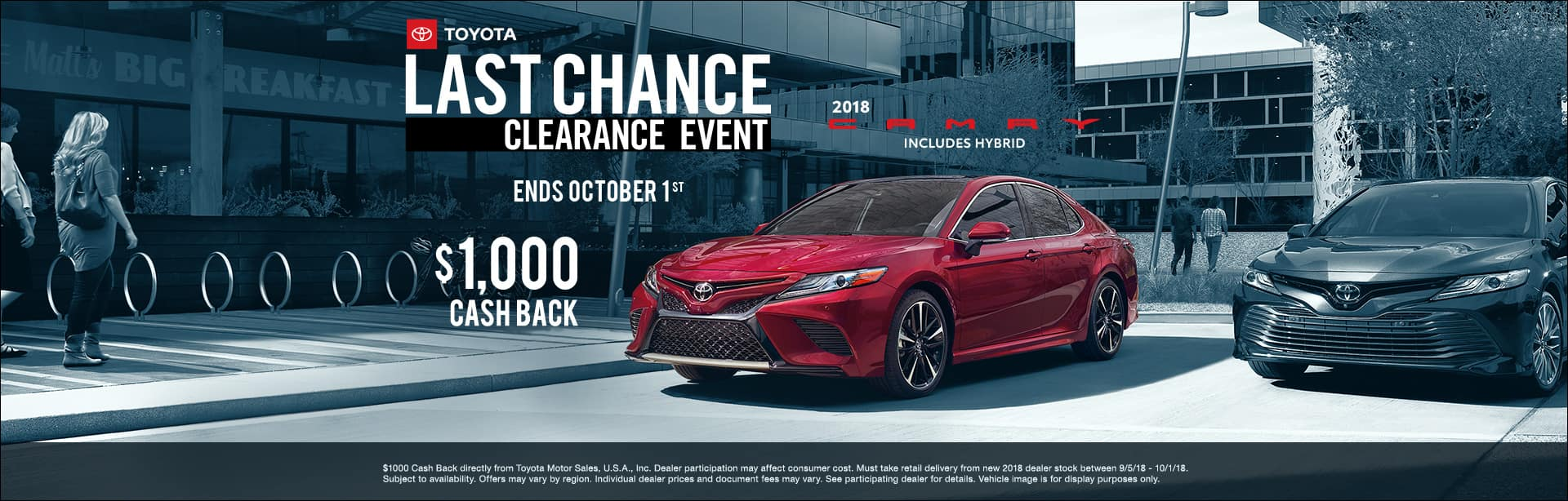Toyota Camry Clearance Event Cain Toyota North Canton Ohio