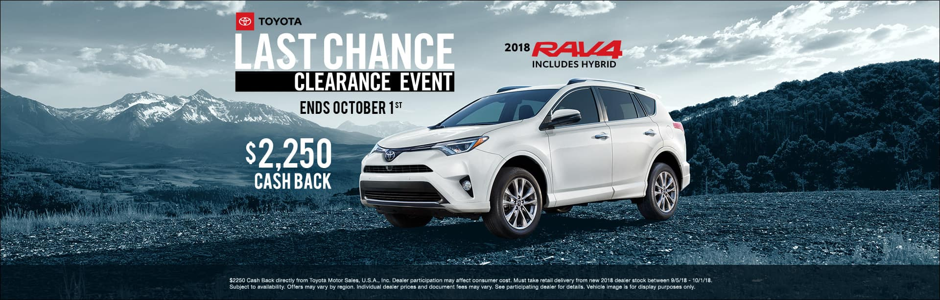 Toyota RAV4 Clearance Event Cain Toyota North Canton Ohio