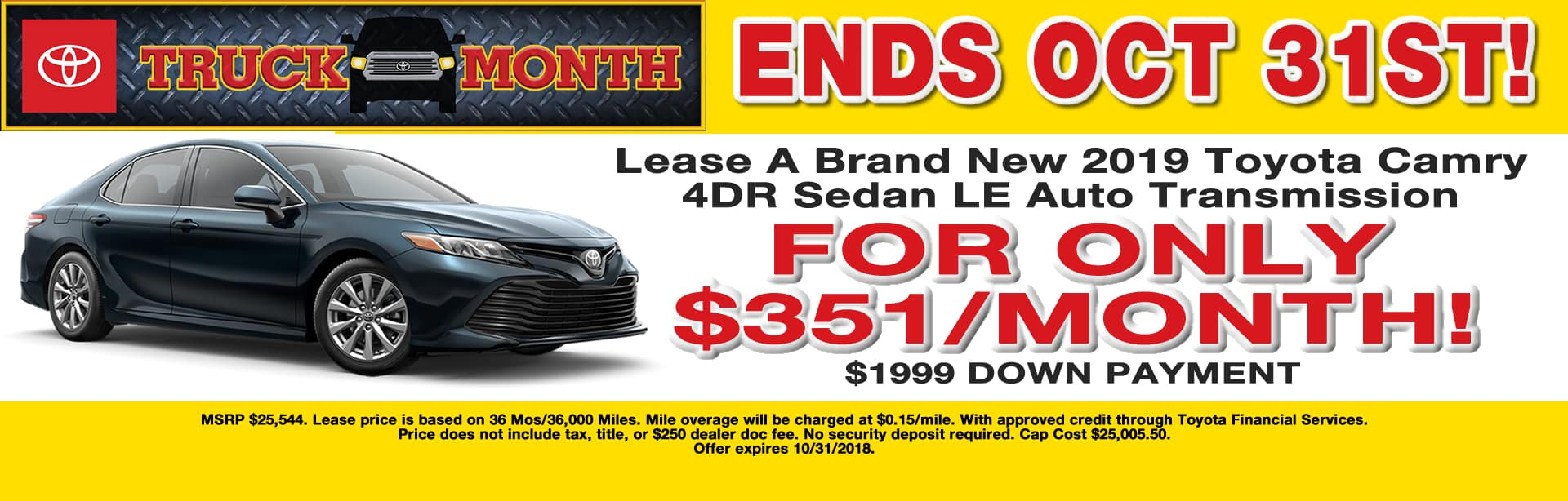 Wonderful Camry Lease Special Cain Toyota North Canton Ohio