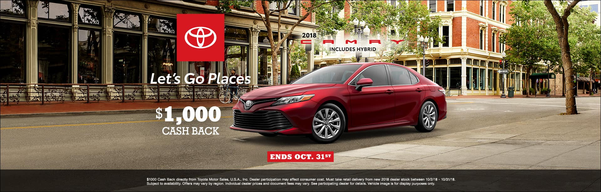 Toyota Camry Cash Back Offer Cain Toyota North Canton Ohio