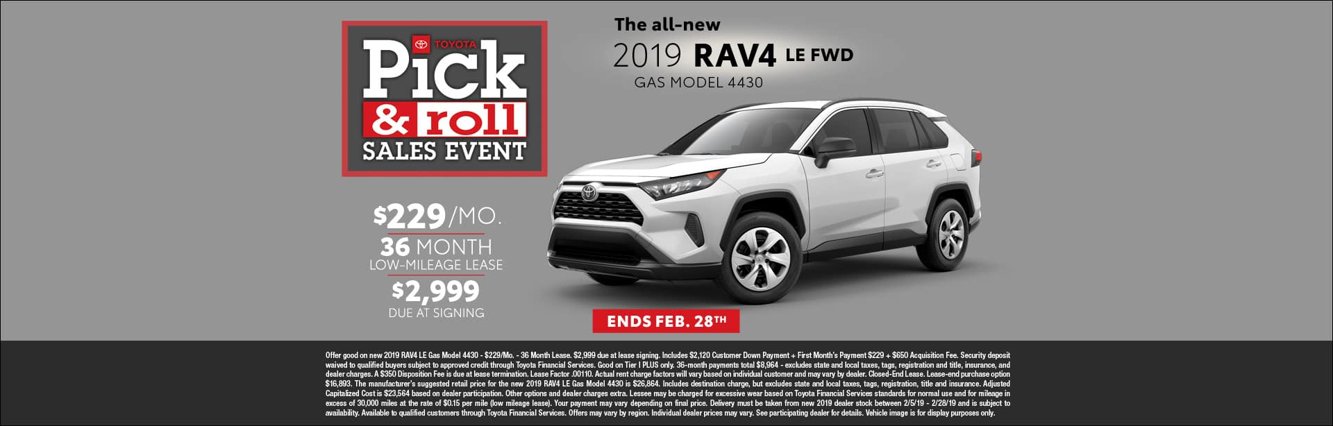 RAV4 LEASE CAIN TOYOTA NORTH CANTON OHIO