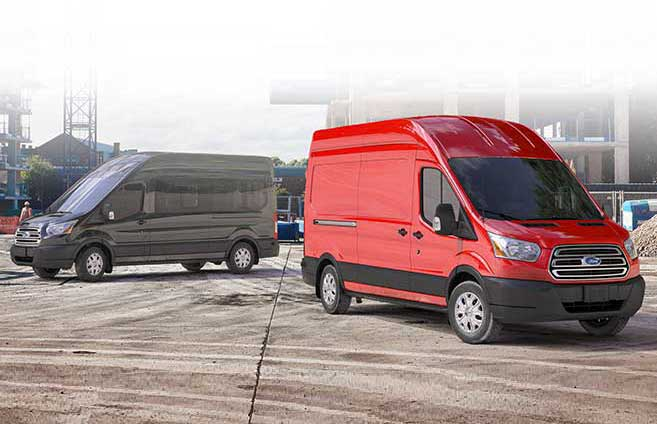 2017 Ford Transit available in 3 sizes