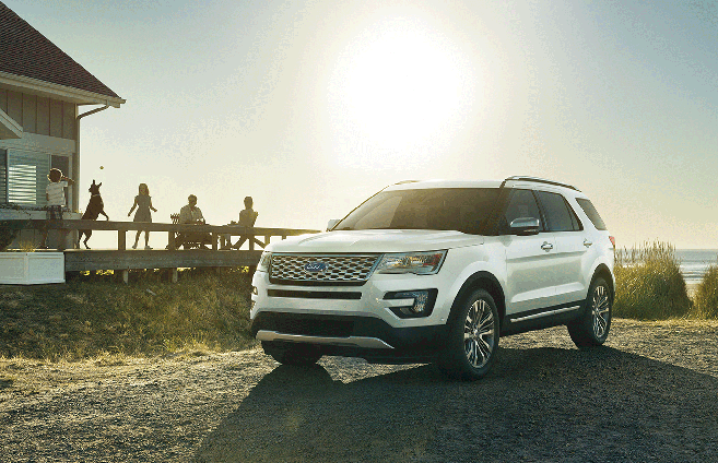 2017 Ford Explorer - Platinum model