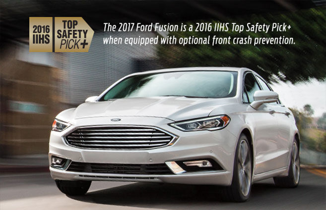 2017 Ford Fusion Top Safety Pick