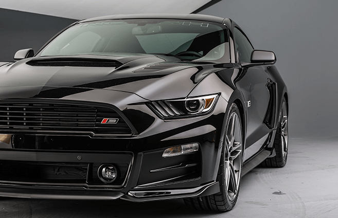 Roush mustang at Capital Ford Lincoln in Regina