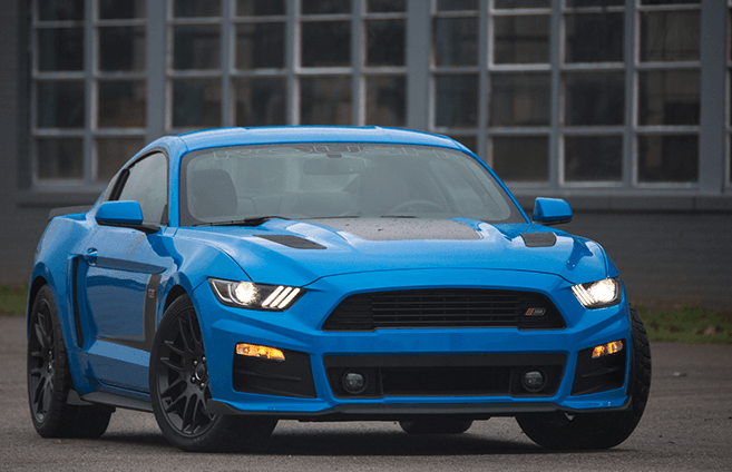 Roush cold air intakes at Capital Ford's Accessory Department