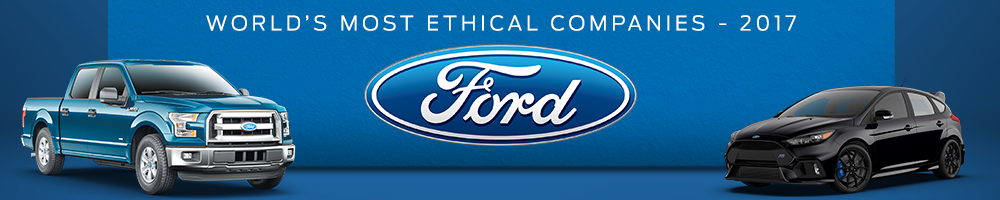Ford has been name among the world's Most Ethical Companies