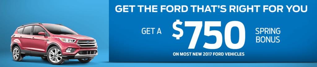 Ford Spring Bonus