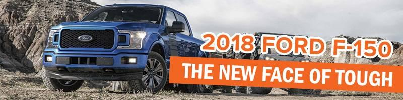 The 2018 Ford F-150.