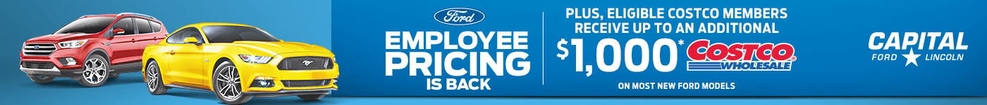 Ford Employee Pricing with Costco Rebate
