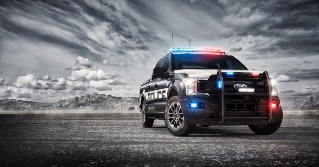 The 2018 F-150 Police Responder