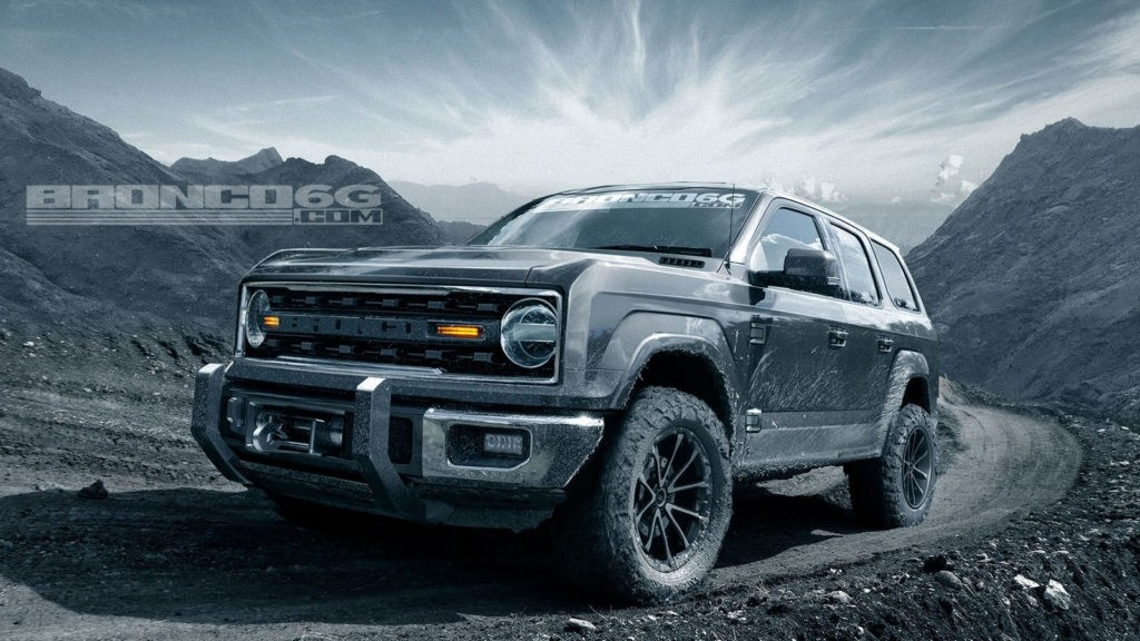 What the 2020 Ford Bronco could look like.