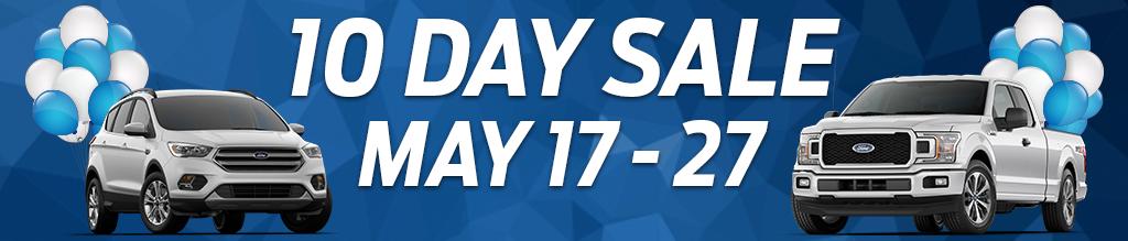 Capital's 10 Day Sale!